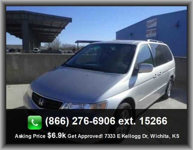 2003 Honda Odyssey Ex L Mini Van Power Windows With 1 One Touch Privacy Tinted Glass 4 Wheel Abs Brakes Speed Propo Honda Odyssey Mini Van Spare Tire Mount