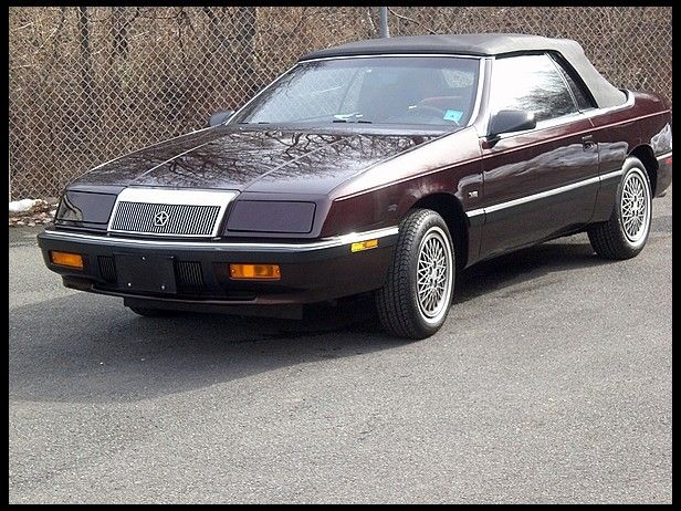 1990 Chrysler Lebaron Convertible 3 0l V6 Sometimes Even A Drop