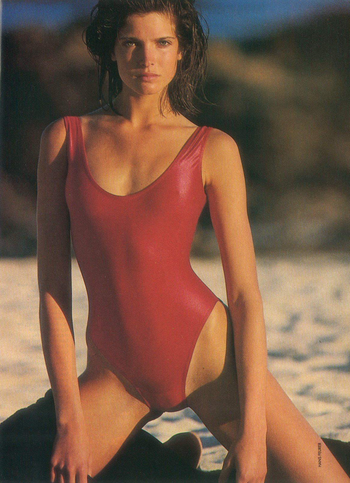 "Stephanie Seymour: ""Summer when it sizzles"", by Hans ..."