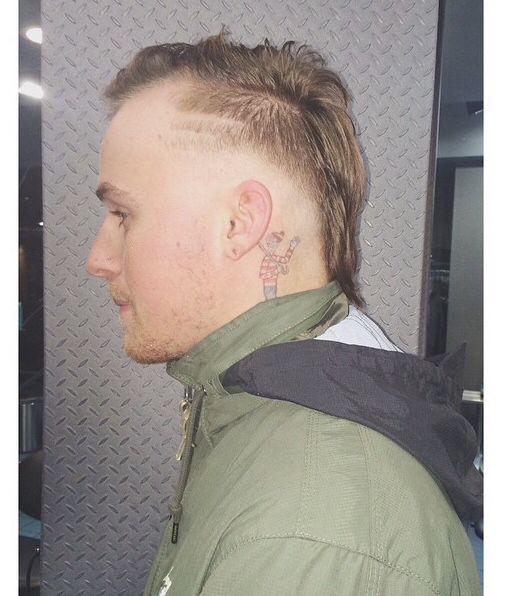Modern Euro Mullet Men S Haircut By Kelsey Schaefer At Richard Nicholas Hair Studio In Philadelphia Mullet Hairstyle Hair And Beard Styles Haircuts For Men