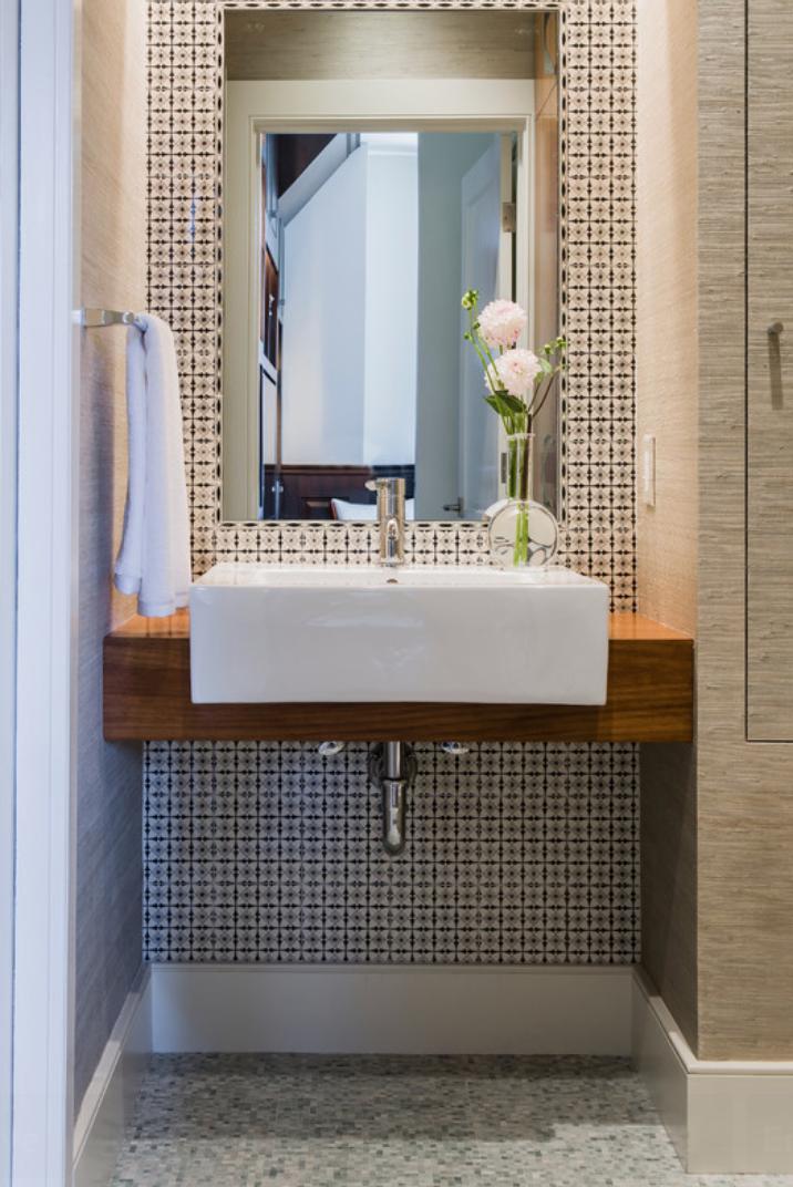 Bath Design Ideas Houzz Com Modern Powder Rooms Bathroom