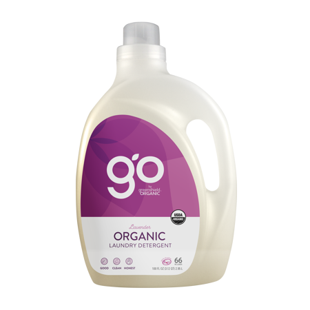 Go By Greenshield Organic Laundry Detergent Lavender 100 Oz