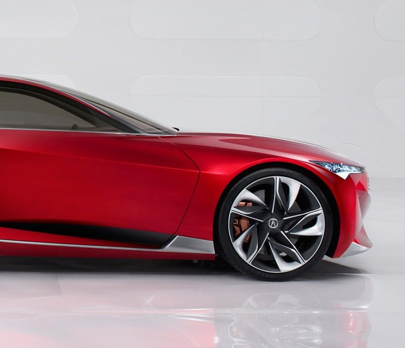 Acura Highlights Razor-edged Forms With Precision Concept
