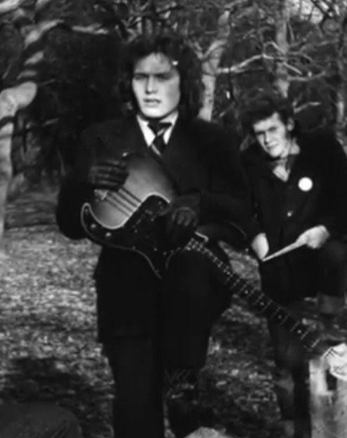 Adam Ant with Bazooka Joe 1975