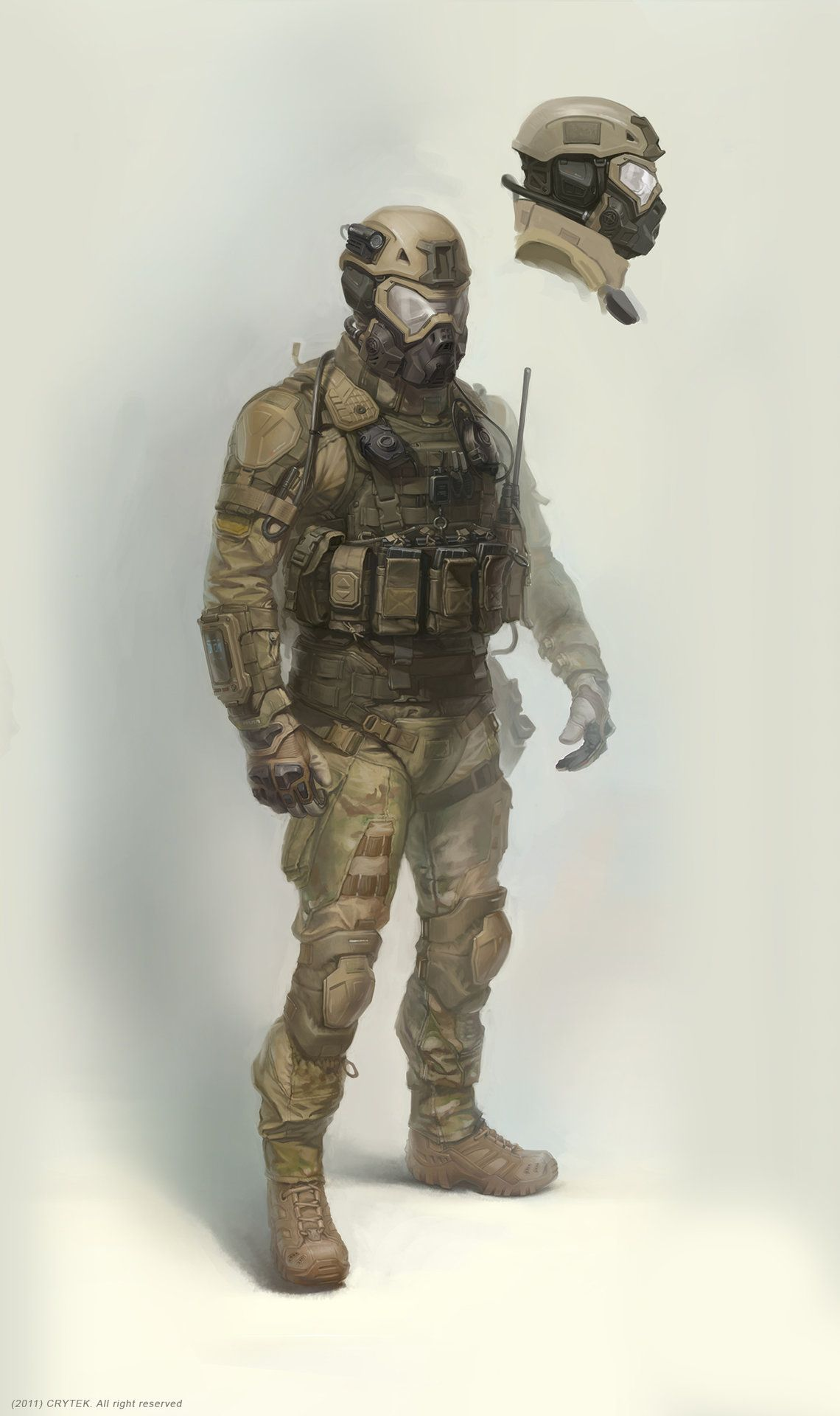 ArtStation - my concept art for crytek (us future soldier ...