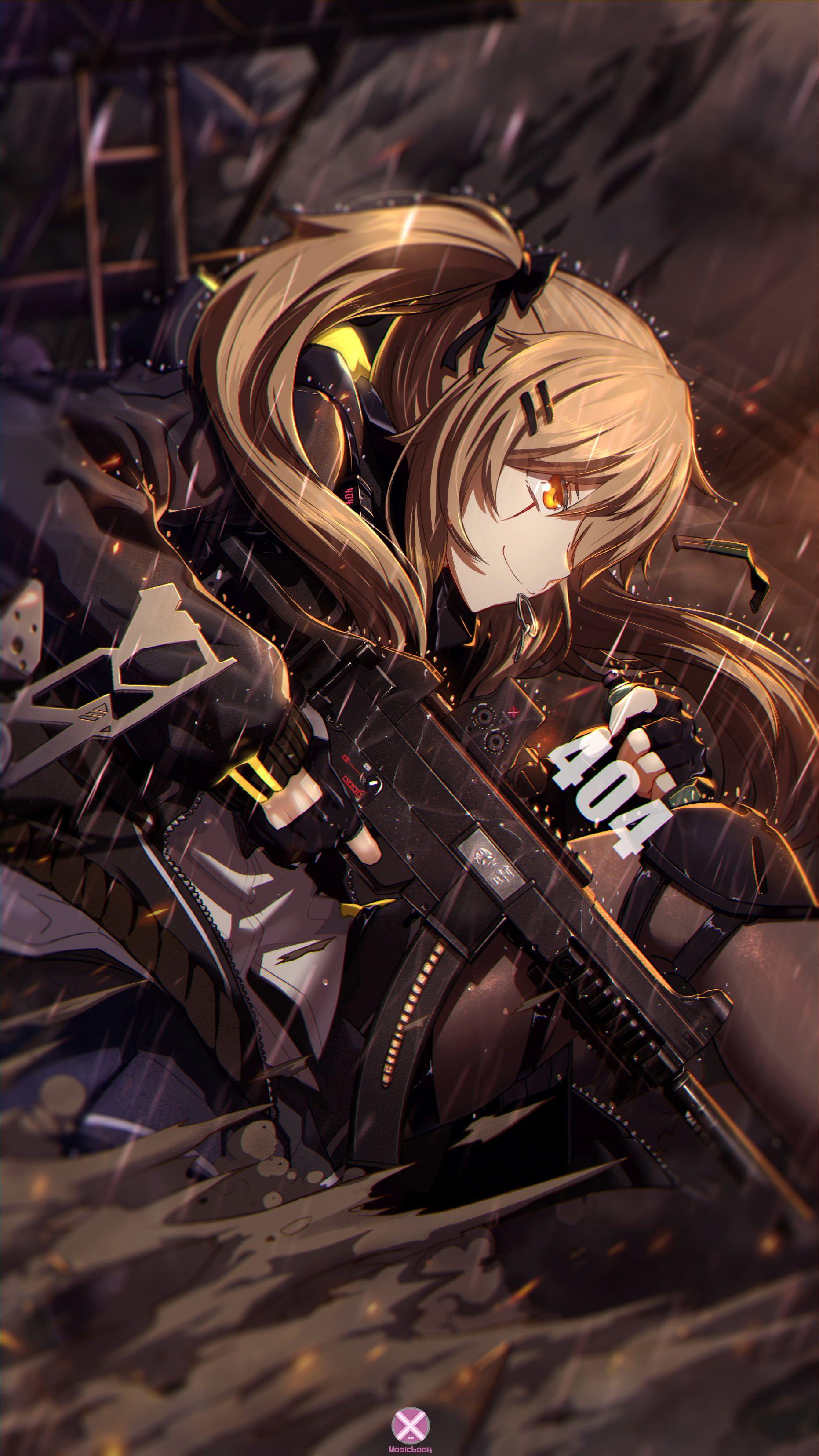 Anime gunslinger mobile wallpaper