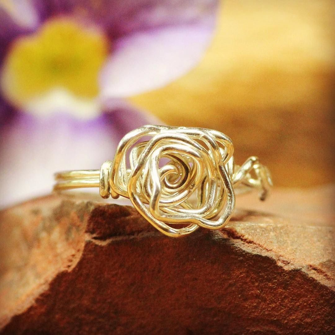 I Am Creating A New Collection Of Rings With A Beautiful Flower Ring