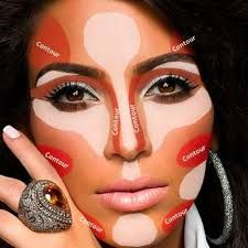 Resultado de imagen para afinar rostro maquillaje