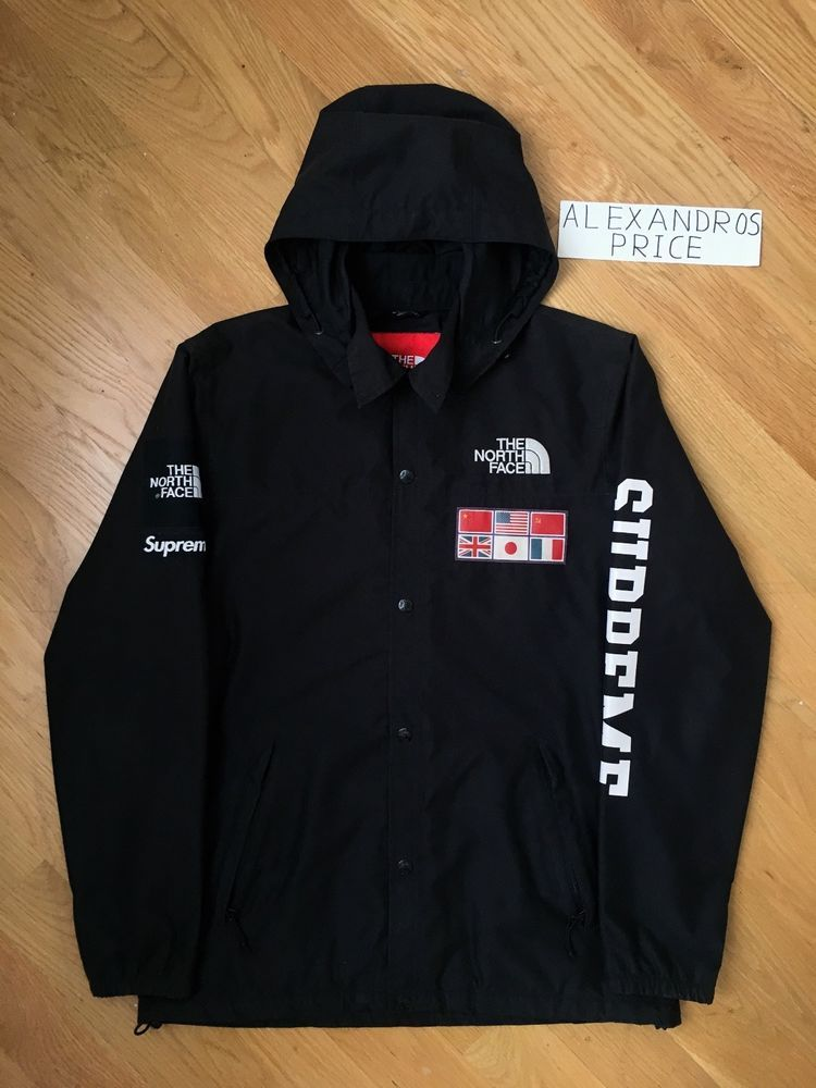 5f788988 Supreme x The North Face S/S14 Expedition Coaches Jacket Size Medium ...