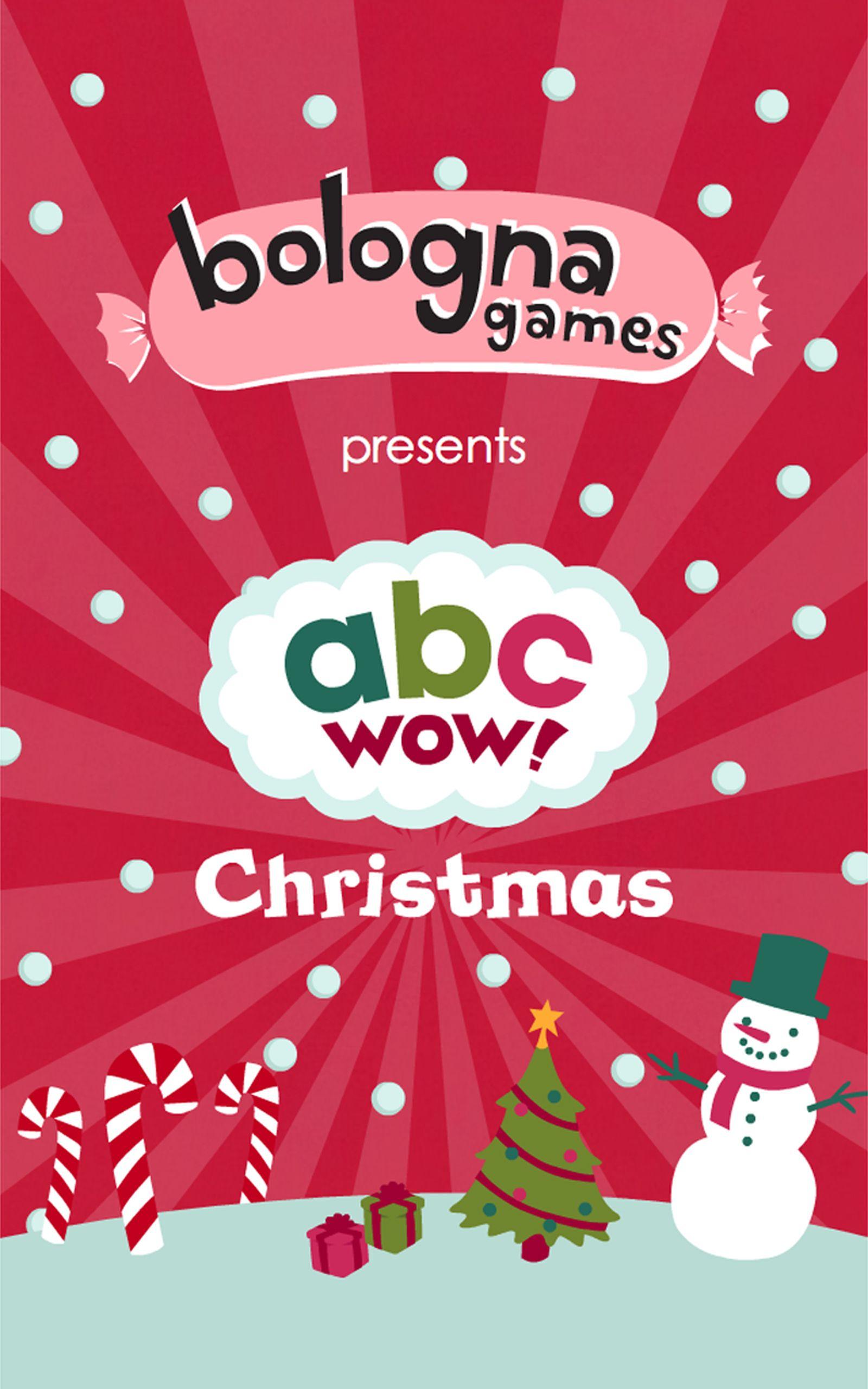 Wow Christmas.Abc Wow Christmas Lite Free Holidays Alphabet Flash Cards