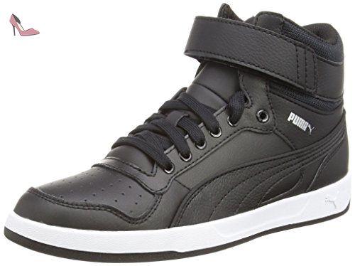 Puma Liza Mid - Zapatillas para Hombre, Negro (Black/Black/Black), 36