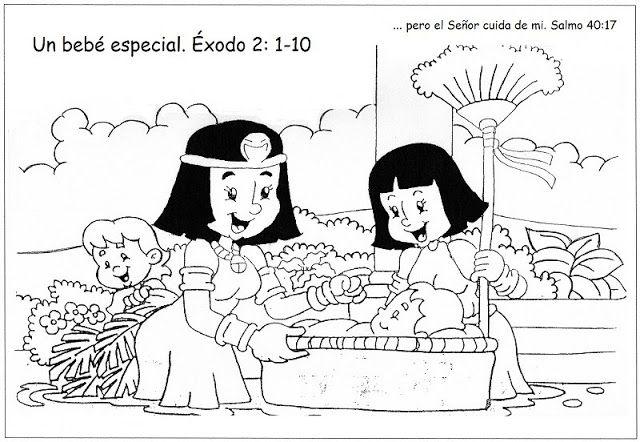 Laminas de La Biblia Para Colorear ,Imprimir y Recortar.: HISTORIA ...