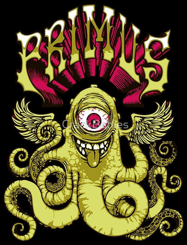 Primus -  Flying Octo by CrackBabies