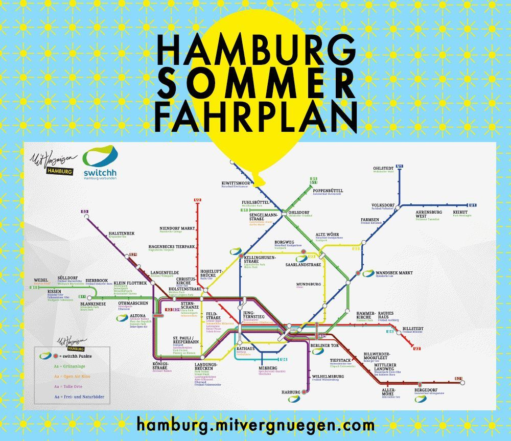 Die Besten Platze In Hamburg Auf Einer Karte Hamburg Hamburg