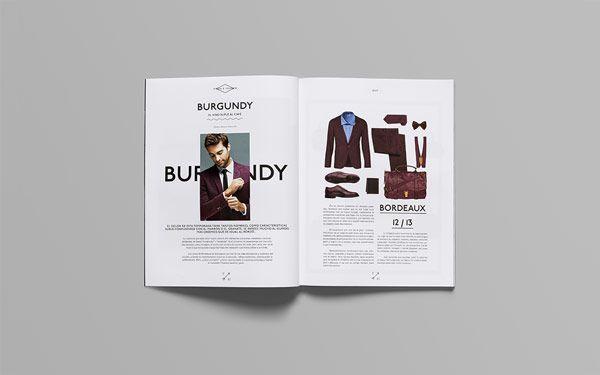 double page de la macro typographie du magazine de mode