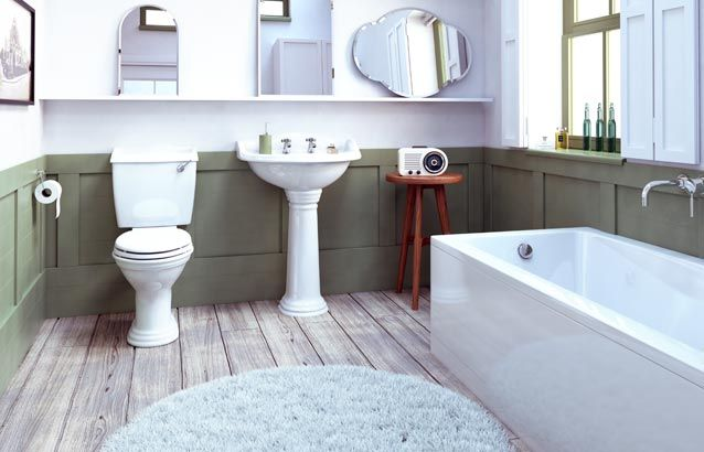 Edwardian Traditional 3 Piece Bath Suite Sv6300009 Scene Rectangle Medium Edwardian Bathroom Bathroom Bathroom Showrooms