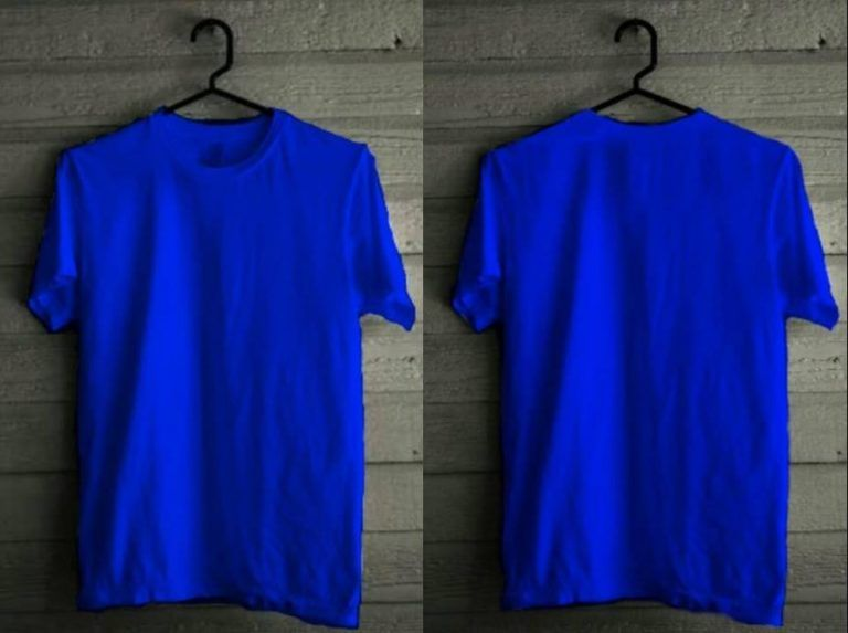 Desain Kaos Polos Depan Belakang Warna Biru Kaos Jaket Bomber Biru Dongker