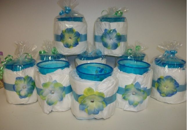 Centros De Mesa Sencillos Para Un Baby Shower Centros De Mesa Sencillos Centros De Mesa Baby Shower