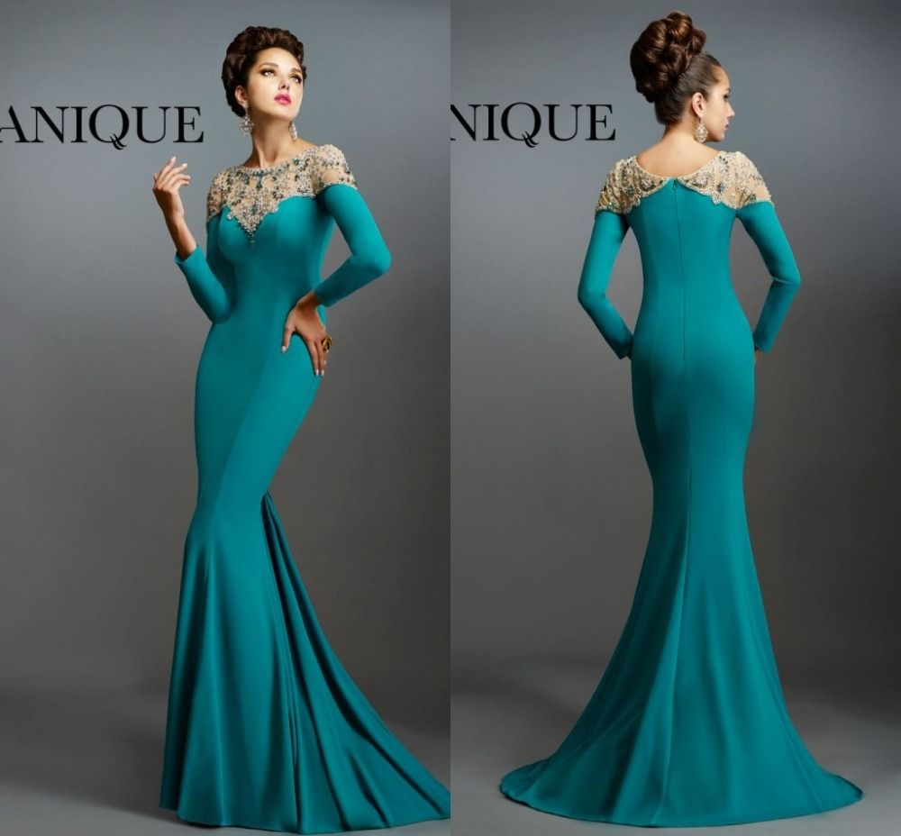 Janique-Dresses-Special-Occasion-Long-Mermaid-Dresses-Beading-Long ...
