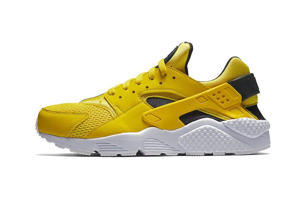 Huaraches, Yellow sneakers, Air huarache