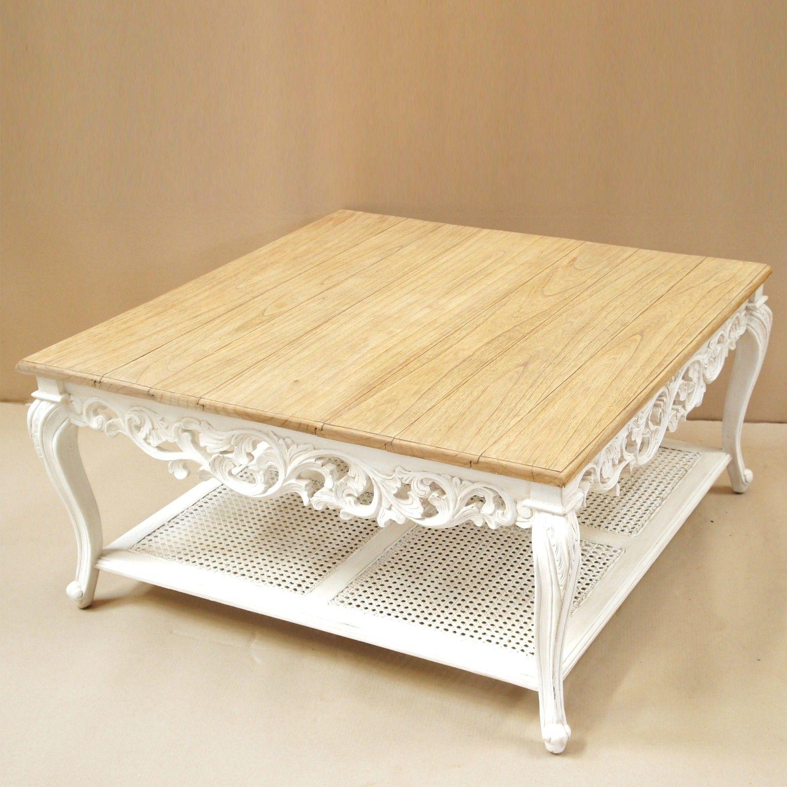 en plateau Table basse est style de chicLe sculptée shabby oBrdQWCxe