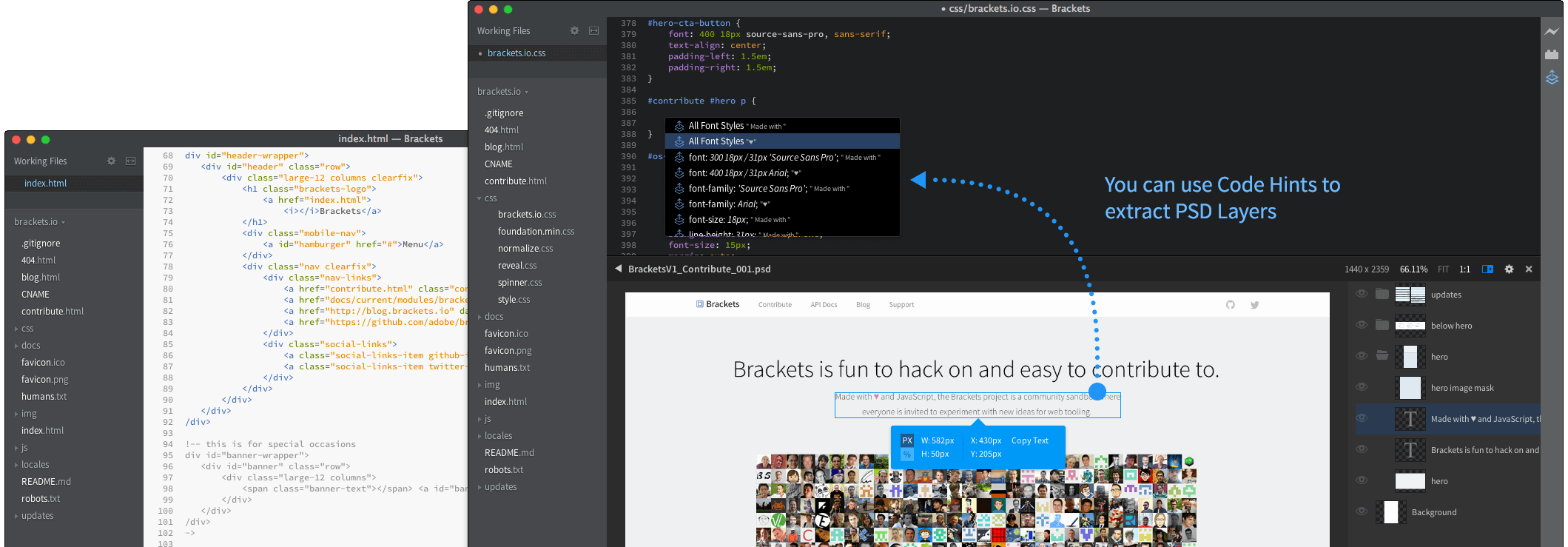 A Modern Open Source Code Editor That Understands Web Design Open Source Code Web Design Coding