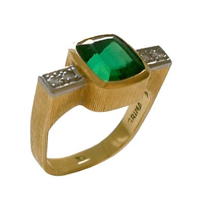 Andrew Grima Andrew Grima Tourmaline and Diamond Ring