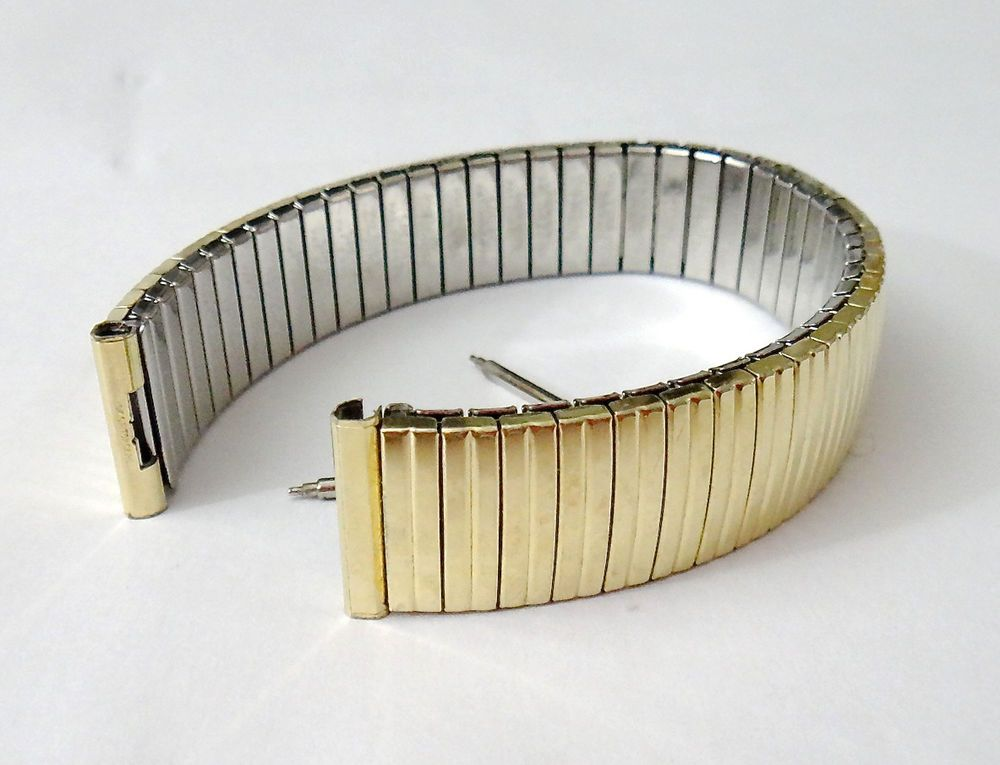 Vintage Speidel Watch Band - 10k Gold Filled 1960s Linesman Expansion  Pre-Owned #Speidel