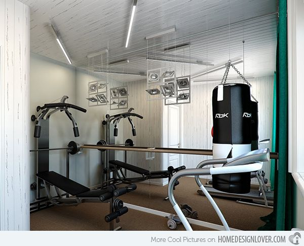 15 Cool Home Gym Ideas