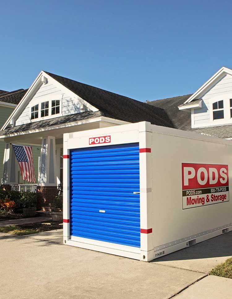 Door to door moving pods