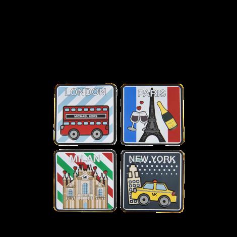 MICHAEL MICHAEL KORS Stickers City Top City Sticker Set. #michaelmichaelkors #all