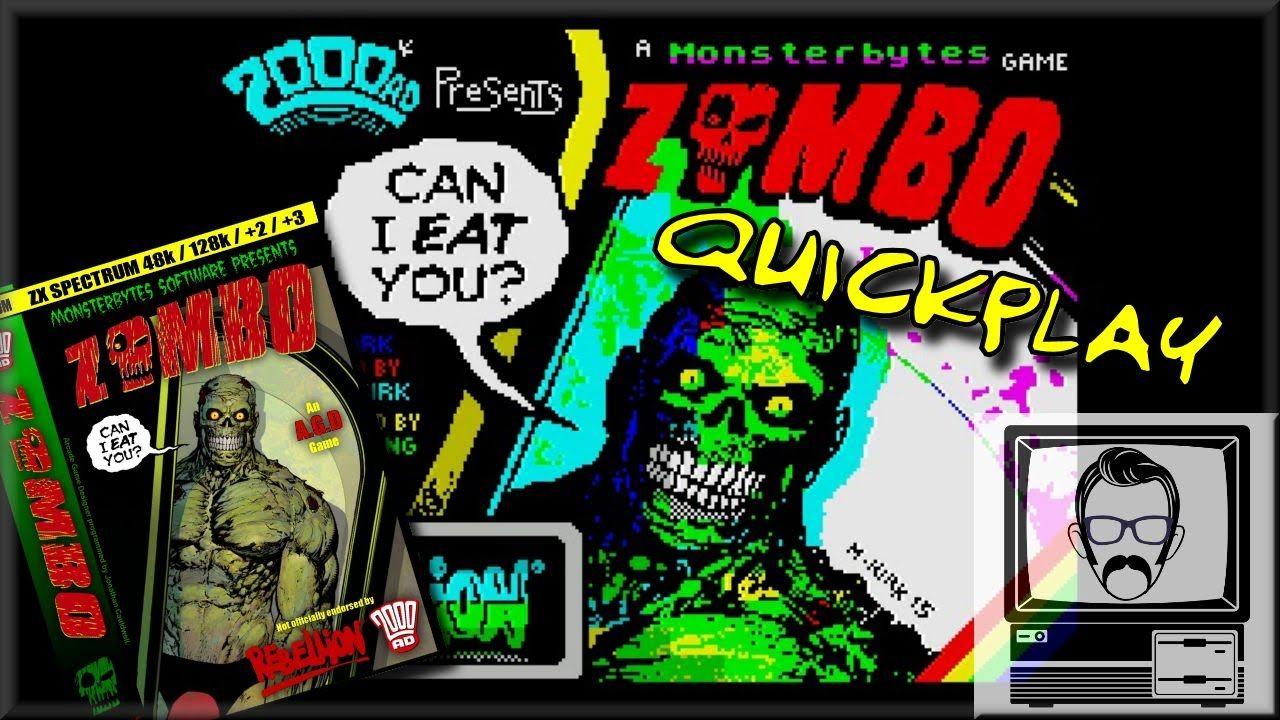 Zombo ZX Spectrum [Quick Play] | Nostalgia Nerd