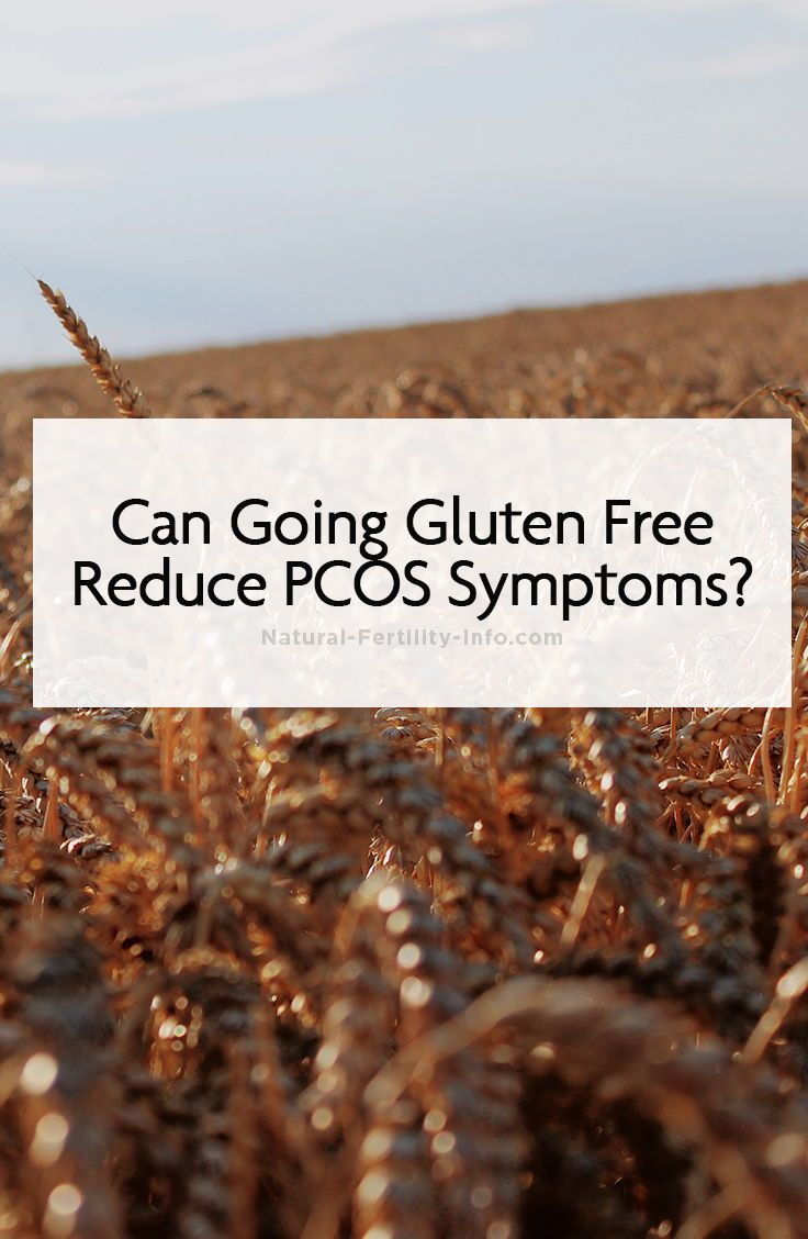 Can going gluten free reduce pcos symptoms pcos