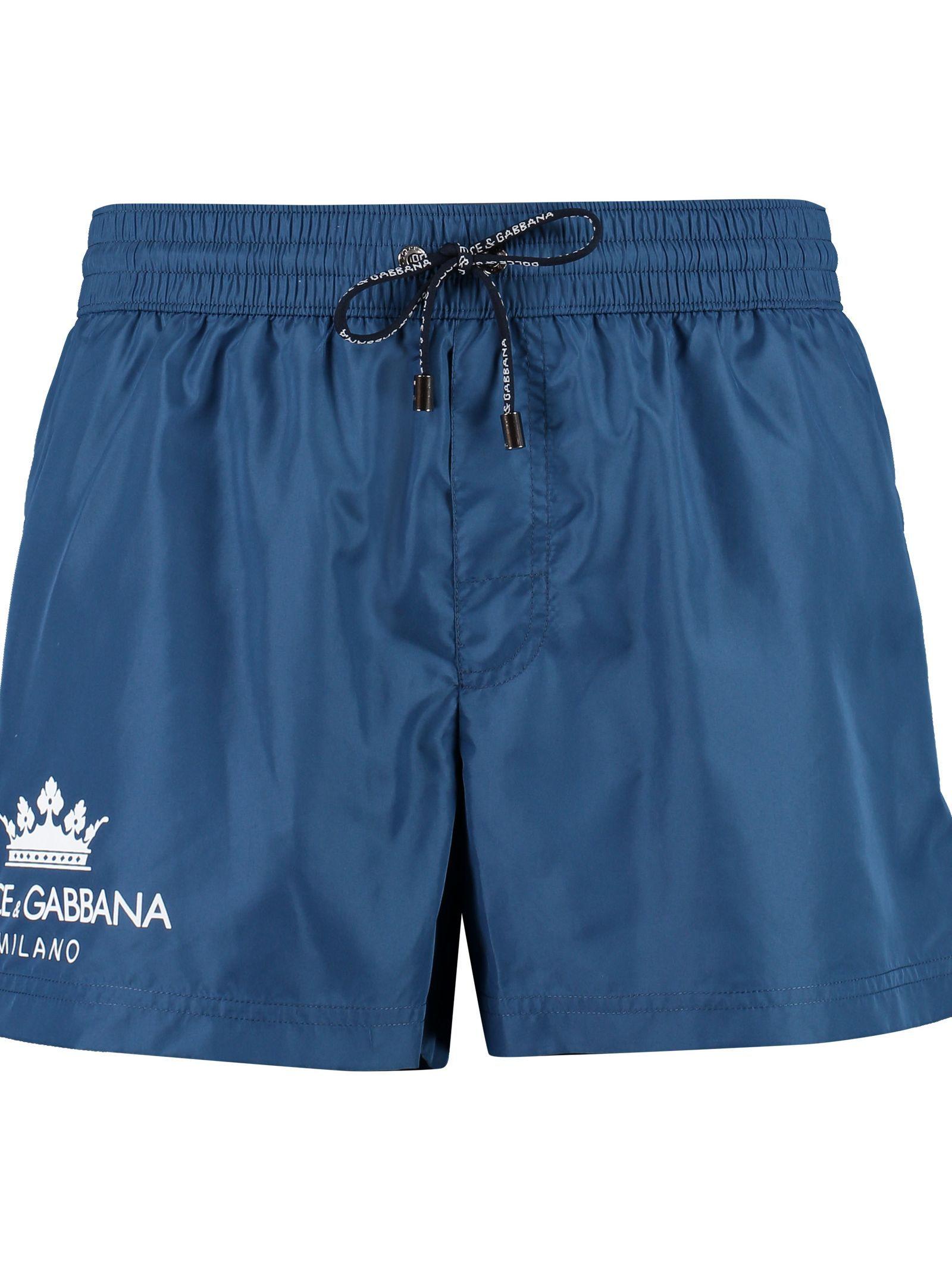 c9e0a8d1c0 DOLCE & GABBANA SWIM SHORTS WITH LOGO. #dolcegabbana #cloth   Dolce ...