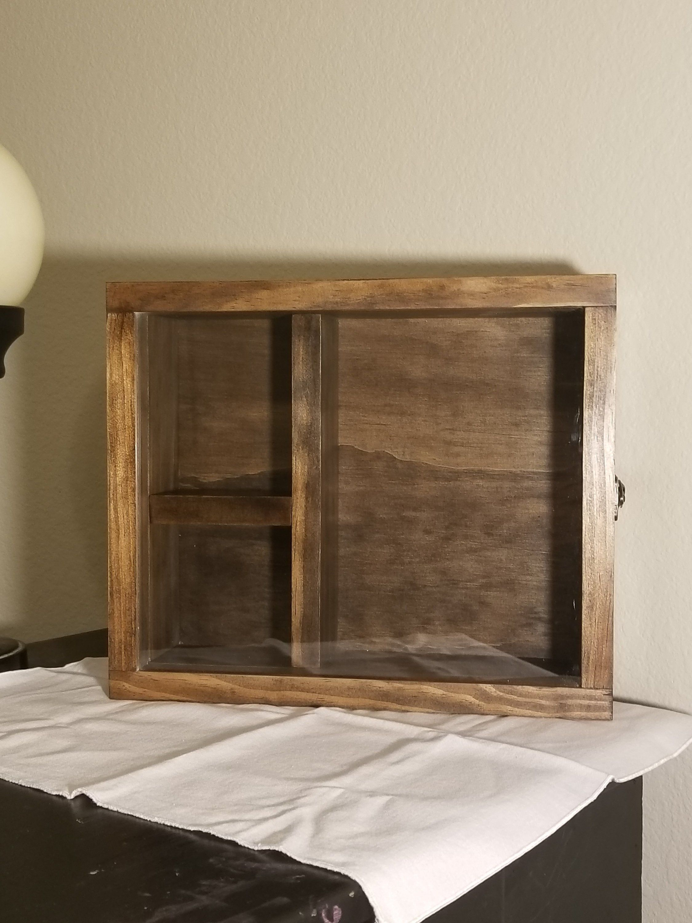 12 1 2 X 10 1 2 X 3 1 4 Wooden Shadow Box Display Case 3 Etsy Wooden Shadow Box Shadow Box Display Case Wood Shadow Box