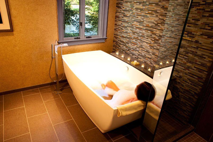 Chateau Elan Spa - MTI Adrian freestanding tub | MTI Baths ...