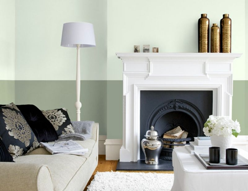Wohnraumgestaltung Mit Farben U2013 50 Beispiele In Trendigen Wandfarben  #beispiele #farben #trendigen #