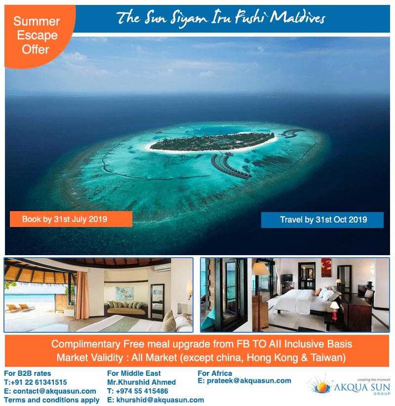 The Sun Siyam Iru Fushi Maldives A 52-acre #property Set