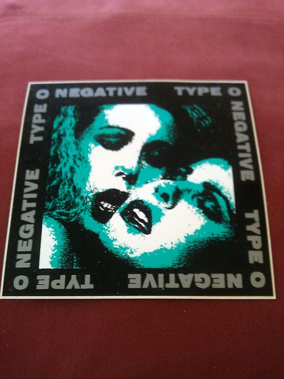 Type O Negative 4.5x4.5 Sticker Decal new old by ALilBitOEraThang, $11.99
