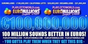 Euromillions is one of the most popular international lotteries. Although it was initially launched in Paris, but now it has been operated in joint by the UK, Belgium, Spain, Austria, Belgium, Luxembourg, Switzerland and Portuguese.Here are some tips by playlottoworld which should be considered while playing lotto online: http://playlottoworlduk.wordpress.com/2013/05/23/share-your-luck-in-euromillions-with-playlottoworld/