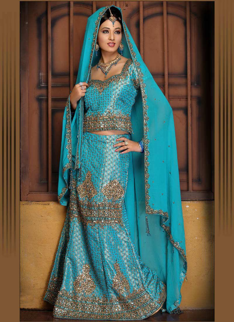 Indian Wedding Dresses   Bridal Decoration: Lehnga choli an Indian ...