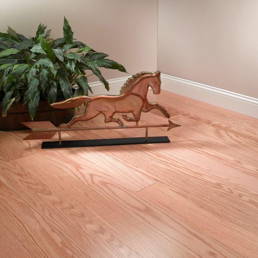 Blue Ridge Hardwood Flooring Red Oak Natural 3/8 in. Thick