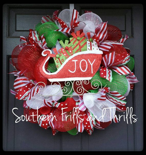 Christmas Wreath, Holiday Wreath, Christmas Decor, Holiday Decor