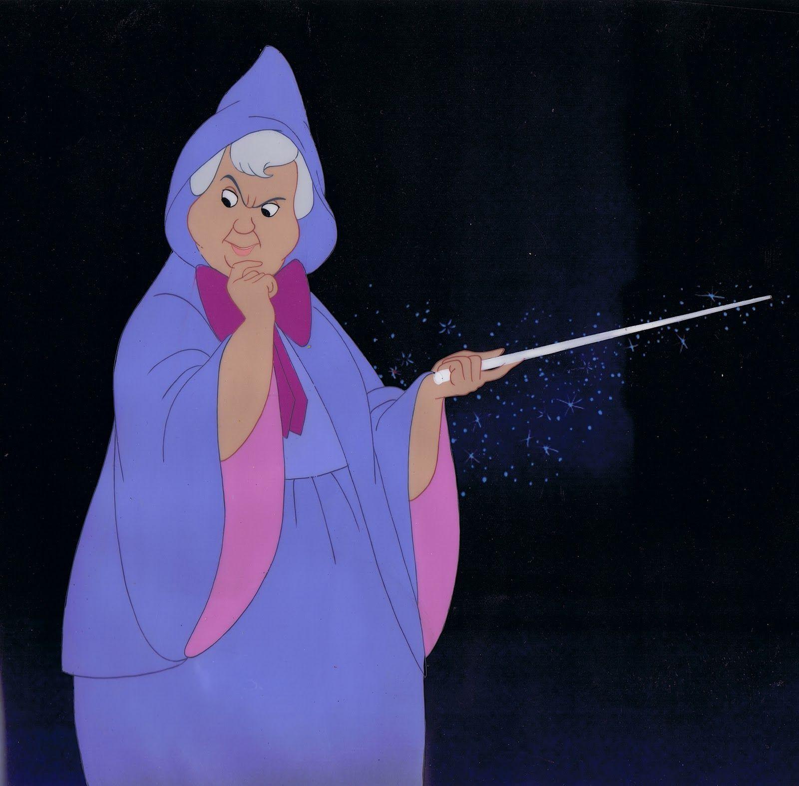 Fairy Godmother From Walt Disney S Cinderella 1950 Disney Nerd
