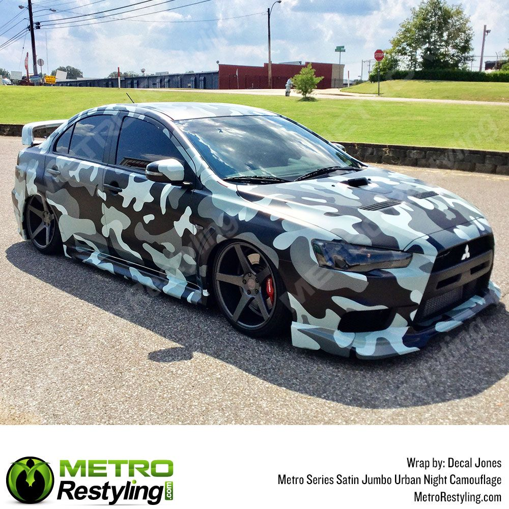 Jumbo Urban Night Camouflage Vinyl Wrap Metro Restyling Camo Car Camo Vehicle Wraps Vinyl Wrap