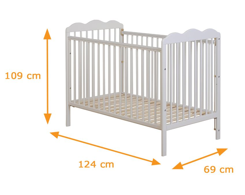 Image Result For Baby Cot Standard Size Baby Cot Diy Crib Childrens Furniture