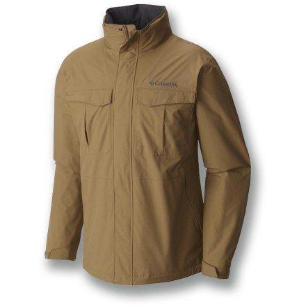 Columbia Men's Dr. Downpour Rain Jacket Buffalo XXL | Waterproof ...