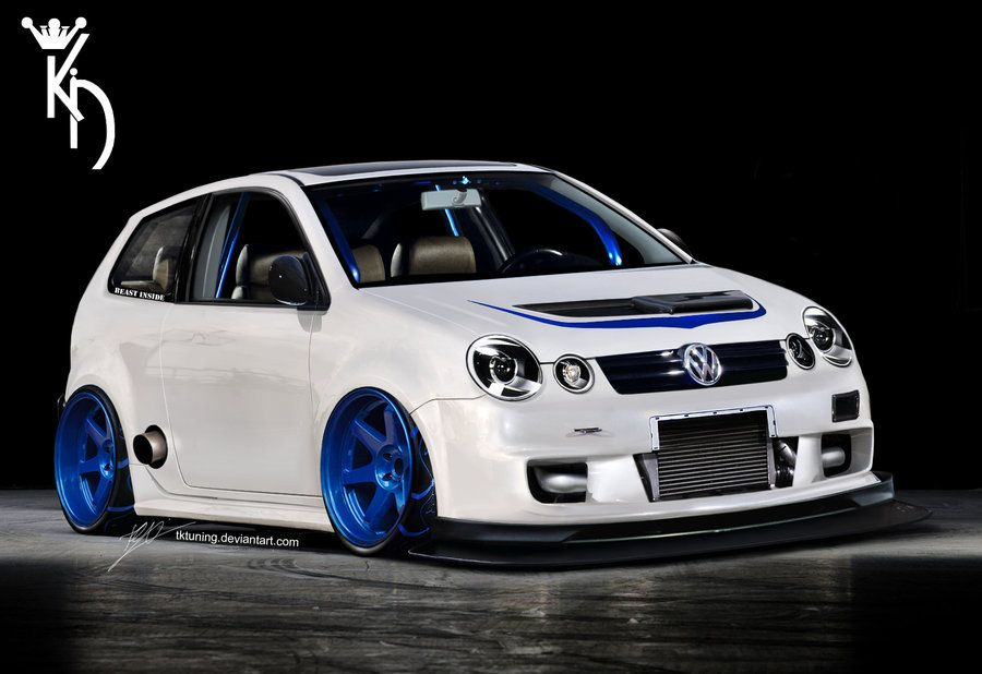 vw polo 9n by tktuning why play golf when u can play. Black Bedroom Furniture Sets. Home Design Ideas