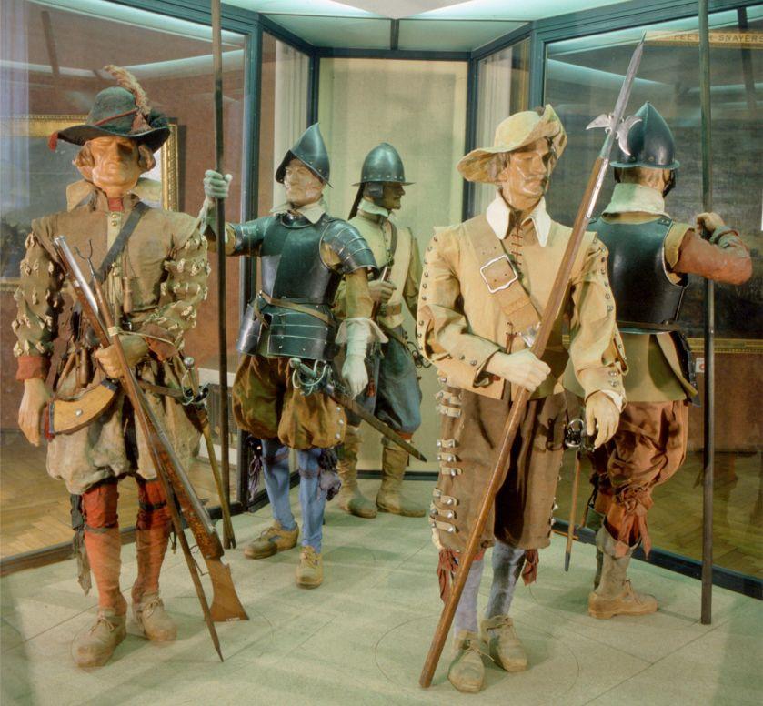Musketiere und Pikeniere aus der Zeit des Dreißigjährigen