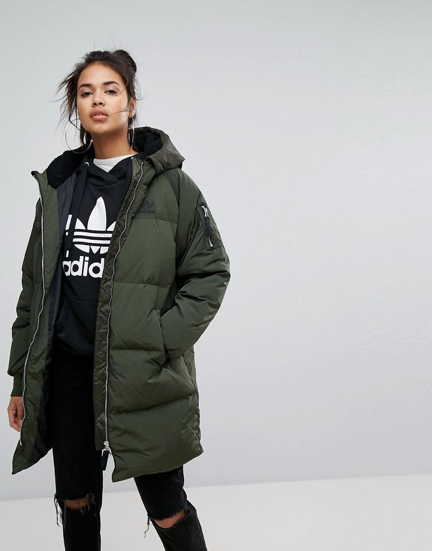 Adidas mantel slim coat